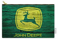 John Deere Barn Door Carry-all Pouch by Dan Sproul
