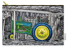 John Deere Green Carry-all Pouch