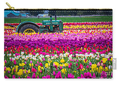 John Deere In Spring Carry-all Pouch