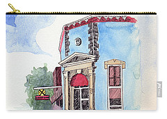 John Dillinger Was Here Carry-all Pouch by Katherine Miller