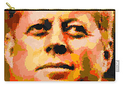John Fitzgerald Kennedy - Abstract Carry-all Pouch