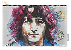 John Lennon..up Close Carry-all Pouch