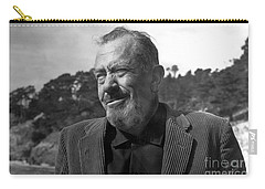 John Steinbeck Pebble Beach, Monterey, California 1960 Carry-all Pouch