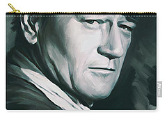 John Wayne Artwork Carry-all Pouch