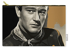 John Wayne  Publicity Photo In Costume Stagecoach 1939-2009 Carry-all Pouch