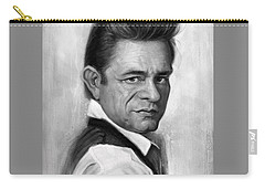 Johnny Cash Carry-all Pouch by Andre Koekemoer