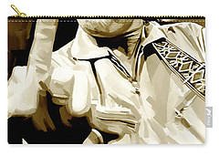 Johnny Cash Artwork 2 Carry-all Pouch by Sheraz A