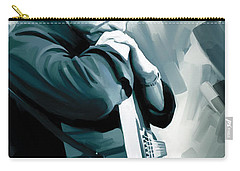Johnny Cash Artwork 3 Carry-all Pouch by Sheraz A