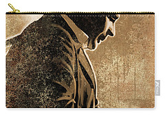 Johnny Cash Artwork Carry-all Pouch by Sheraz A