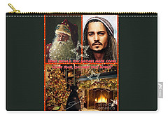 Johnny Depp Xmas Greeting Carry-all Pouch