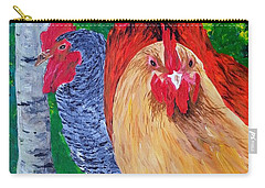John's Chickens Carry-all Pouch