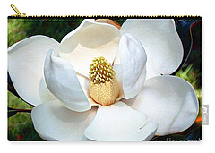 Carry-all Pouch featuring the photograph John's Magnolia by Barbara Chichester