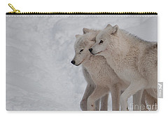Carry-all Pouch featuring the photograph Joined At The Hip by Bianca Nadeau