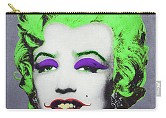 Joker Marilyn Carry-all Pouch by Filippo B