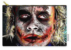 Joker Painting Carry-all Pouch by Daniel Janda