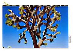Joshua Tree Dark Carry-all Pouch by Jeff Iverson