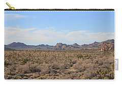 Carry-all Pouch featuring the photograph Joshua Tree National Park by Amy Gallagher
