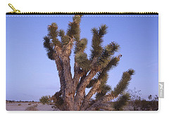 Solitude Of The Joshua Tree Carry-all Pouch by Shaun Higson