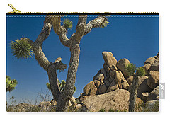 California Joshua Trees In Joshua Tree National Park By The Mojave Desert Carry-all Pouch