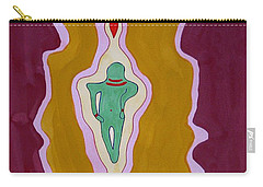 Journey Between Suns Original Painting Carry-all Pouch