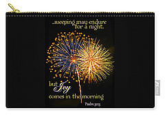 Carry-all Pouch featuring the photograph Joy In The Morning by Larry Bishop