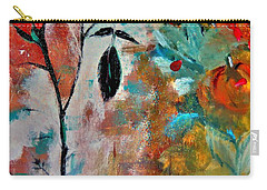 Carry-all Pouch featuring the painting Joy by Lisa Kaiser