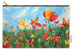 Joyful Morning Carry-all Pouch by Meaghan Troup