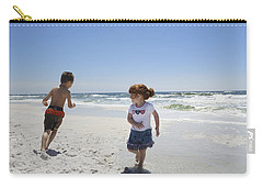 Joyful Play Of Children Carry-all Pouch by Charles Beeler