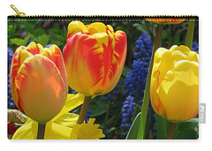 Carry-all Pouch featuring the photograph Jubilance by Rory Sagner