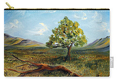 Jubilant Fields Carry-all Pouch by Meaghan Troup