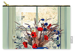 Jug Of Flowers Carry-all Pouch