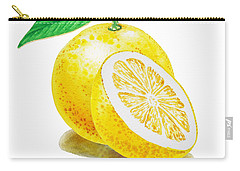 Juicy Grapefruit Carry-all Pouch by Irina Sztukowski