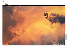 'jump Into The Fire' Carry-all Pouch