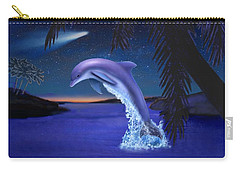Jumping For Joy Carry-all Pouch by Glenn Holbrook