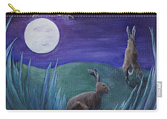 Jumping The Moon Carry-all Pouch