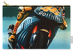 Jumping Valentino Rossi  Carry-all Pouch