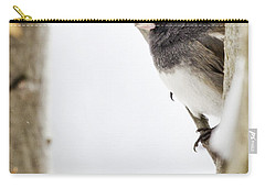 Junco And Oak Carry-all Pouch