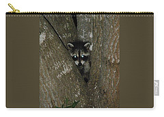 Baby Raccoon And Jesus Carry-all Pouch