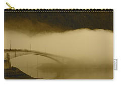 Juneau - Douglas Bridge Carry-all Pouch by Cathy Mahnke
