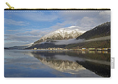 Juneau In Winter Carry-all Pouch by Cathy Mahnke