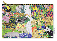 Jungle Animals Wc Carry-all Pouch