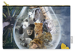 Jungle Drop Carry-all Pouch
