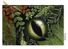 Jungle Eye Carry-all Pouch by Carol Jacobs