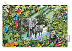 Jungle Carry-all Pouch by Mark Gregory