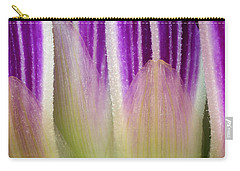 Carry-all Pouch featuring the photograph Just A Dahlia 1 by Wendy Wilton
