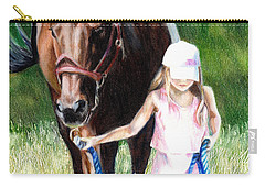 Just A Girl And Her Horse Carry-all Pouch
