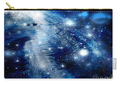Carry-all Pouch featuring the digital art Just Beyond The Moon by Janice Westerberg