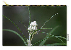 Carry-all Pouch featuring the photograph Just Budding by Denyse Duhaime