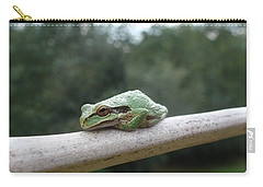 Carry-all Pouch featuring the photograph Just Chillin' by Cheryl Hoyle