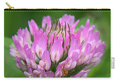 Just Clover Carry-all Pouch by Denyse Duhaime